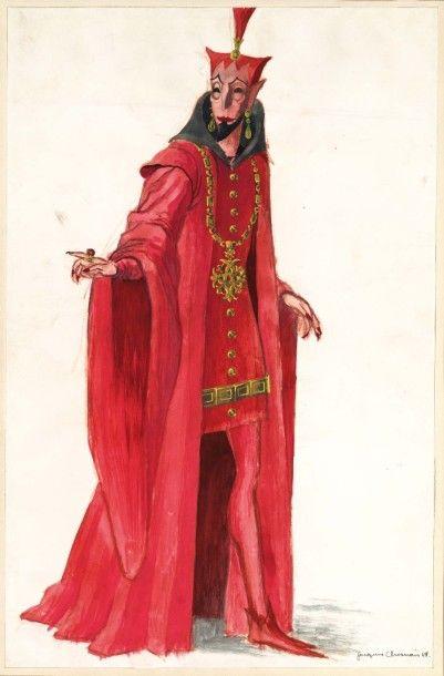 9 PROJETS DE DÉCORS dont Geneviève de Brabant...