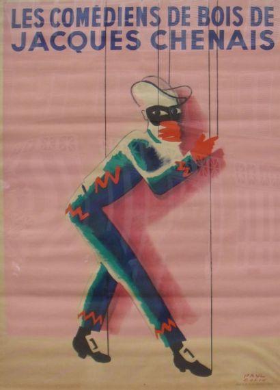 PAUL COLIN Affiche réalisée pour le théâtre...