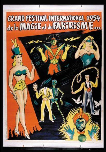 FAKIRISME GRAND FESTIVAL 1954.