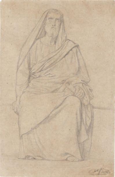 HIPPOLYTHE FLANDRIN (1809-1864)