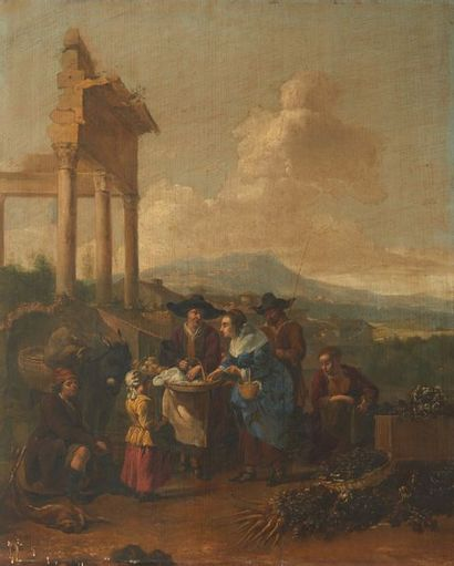 Attribué à Hendrick MOMMERS (1623 - 1693)