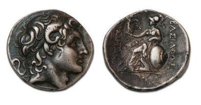 THRACE Lysimaque (323-281 BC) Tetradrachma....