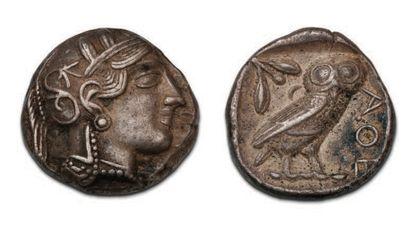ATTIC Athens (449-404 BC) Tetradrachma. Athena's...
