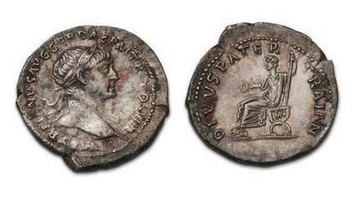 TRAJAN (98-117) Denier. His prize-winning...