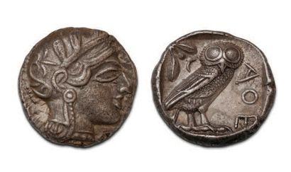 ATTIC Athens (449-404 BC) Tetradrachma. 17,22...