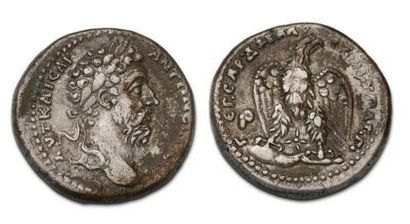 MARC AURÈLE (161-180) Tetradrachma. Antioch....