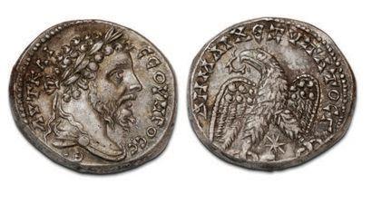 SEVEN SEVERE (193-211) Tetradrachma. Laodicea...