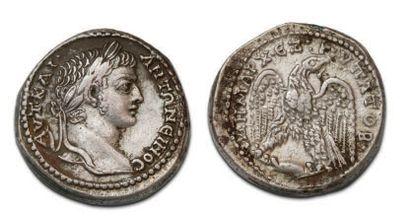 CARACALLA (196-217) Tetradrachma. Antioch...