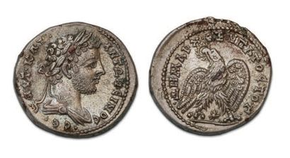 CARACALLA (196-217) Tétradrachme. Laodicée...