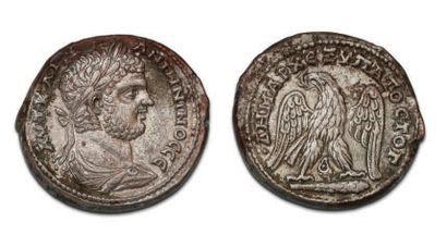 CARACALLA (196-217) Tétradrachme. Tyr (209-212)...