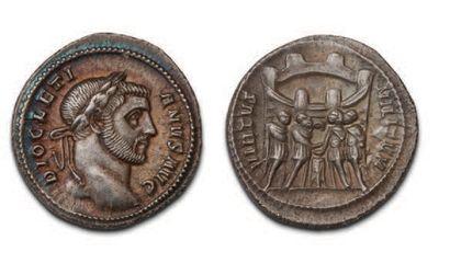DIOCLÉTIEN (284-305) Argentéus. Rome. Sa...