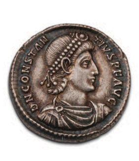 CONSTANCE II (324.361) Argentéus. Sirmium...
