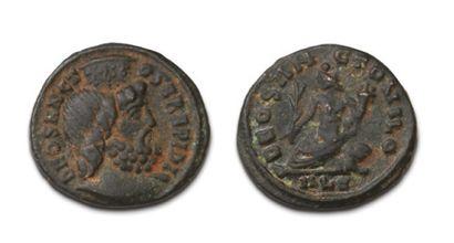 JULIEN II (355-363) Petit bronze. Alexandrie....