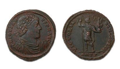 JOVIEN (363-364) Double maiorina. Antioche....