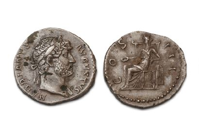 16 DENIERS VARIÉS. Trajan - Hadrien (2 ex.)...