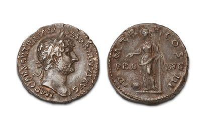 17 DENIERS VARIÉS. Trajan - Hadrien (2 ex.)...
