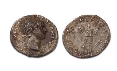 17 DENIERS VARIÉS. Trajan (2 ex.) - Hadrien...