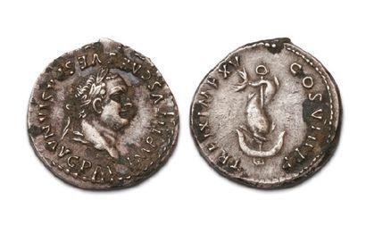 21 DENIERS VARIÉS. Néron -Titus - Domitien...