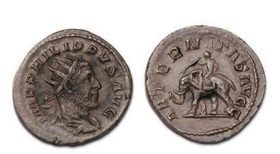 40 ANTONINIENS variés de Gordien III à Probus...