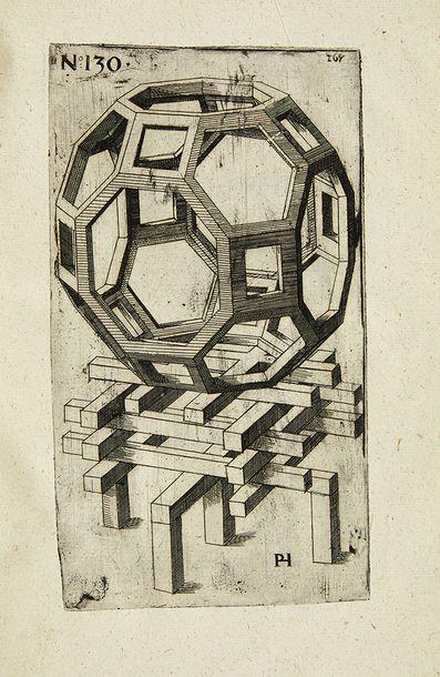 HALT, Peter Perspectivische Reiss Kunst. Augsbourg, David Franck pour l'auteur, 1625....