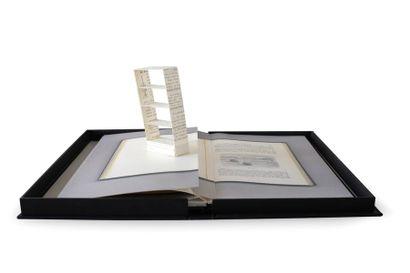 HOFSTRA, Sjoerd & O'HEARN, Karen 6 Empty Bookcases. Amsterdam & New York, ZET, 1996....