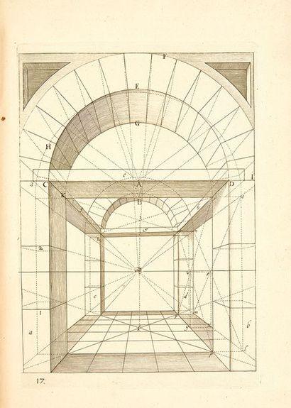 HONDIUS, Henricus Grondige Onderrichtinge in de Optica, ofte Perspective Konste,...