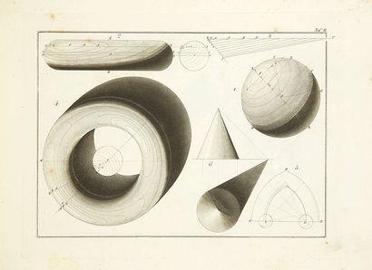 HUMMEL, Johann Erdmann Geometrisch-praktische Construktion der Schatten für Architekten...