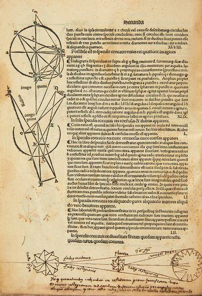 JOHANNES DE PECKHAM Perspectiva communis. Venise, Jean-Baptiste Sessa, 1504. In-4...