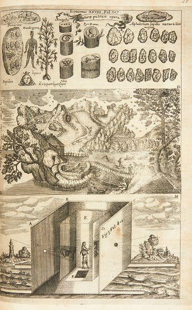 KIRCHER, Athanase Ars Magna lucis et umbrae in decem libros digesta. Quibus admirandae...