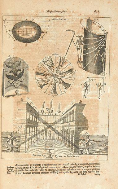 KIRCHER, Athanase Ars Magna Lucis et Umbrae, in X. libros digesta. Quibus admirandae...