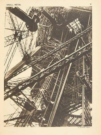 KRULL, Germaine Métal. Paris, Librairie des arts Décoratifs A. Calavas, [1928]. In-4...