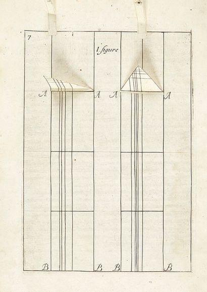 [LE BICHEUR, Jacques] Traicté de perspective, faict par un peintre de l'Académie...