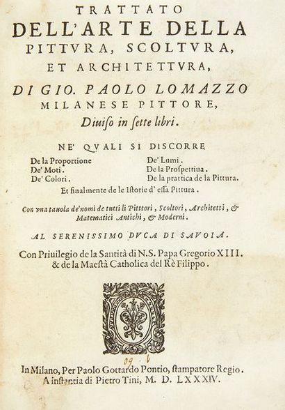 LOMAZZO, Giovanni Paolo