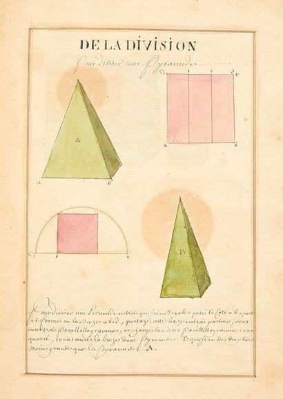 [MANUSCRIT]. Traité de géométrie tome quatrième:...