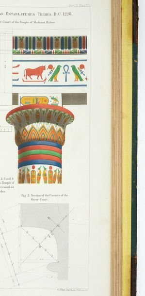 PENNETHORNE, John The Geometry and Optics of Ancient Architecture Illustrated by...