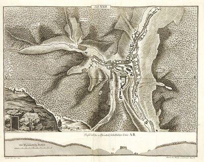 PENTHER, Johann Friedrich Praxis Geometriae, worinnen nicht nur alle by dem Feld-messen...