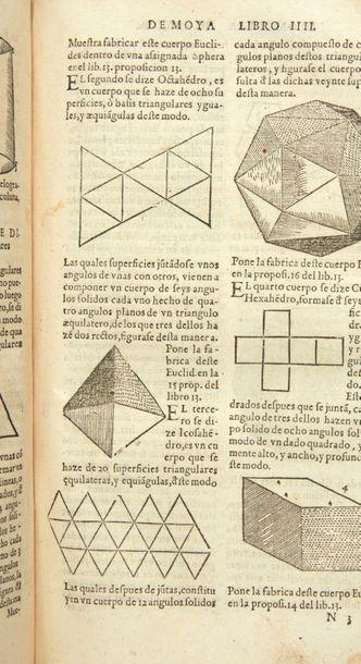 PEREZ DE MOYA, Juan Tratado de geometria practica y speculativa. [Suivie de: ] Tratado...
