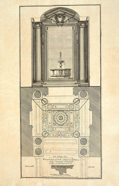 ROSSI, Domenico de Studio d'Architettura Civile, sopra gli ornamenti di porte e finestre...