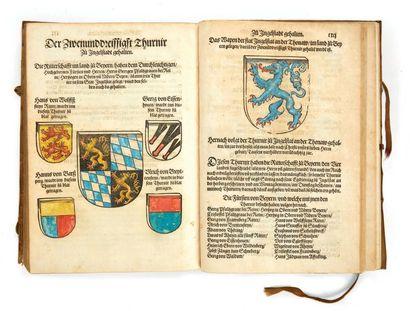 RÜXNER, Georg & RODLER, Hieronimus Anfang, Ursprung und Herkommen des Thurniers inn...