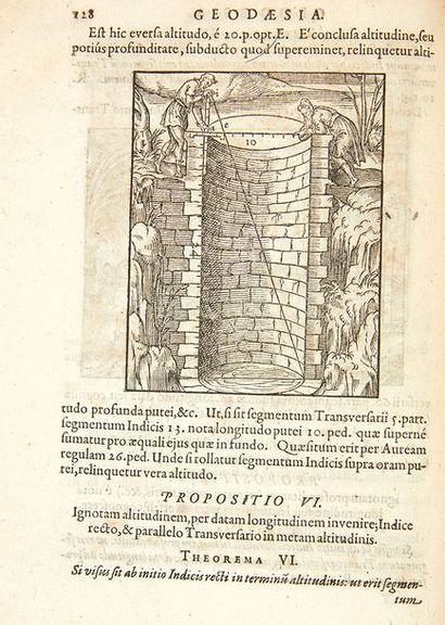 RYFF, Peter Quaestiones geometricae in Euclidis & P. Rami. Francfort, Andeas Wechel,...