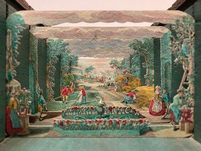 THEATRE D'OPTIQUE. Collection de 100 théâtres...