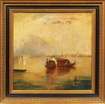 JAMES-BAKER PYNE (1800-1870) - ATTRIBUÉ À