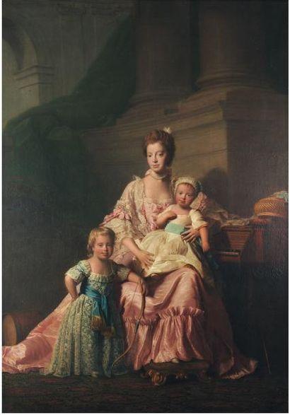 ALLAN RAMSAY ET SON ATELIER (EDIMBOURG 1713 - DOUVRES 1784)