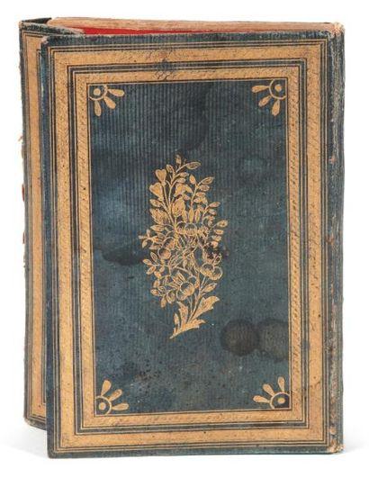 Coran signé, situé et daté. Manuscrit sur...
