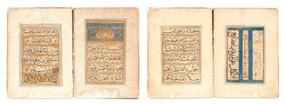Eulogies sur l'imam 'Alî. Manuscrit écrit...