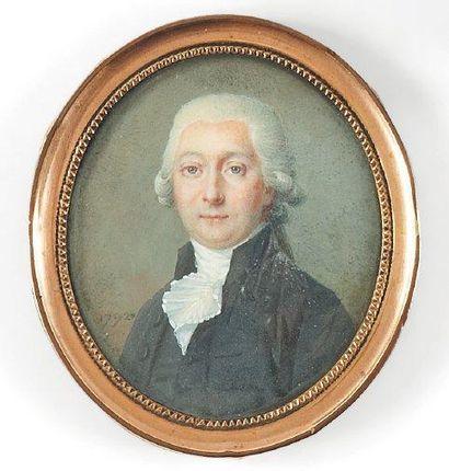 Ecole française de la fin du XVIIIe siècle