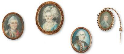 Ecole française du XVIIIe siècle et du XIXe siècle