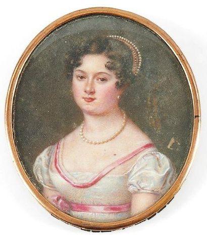 Toulza (Madame Joséphine Ternier, née -), active entre 1817 et 1833 à Paris