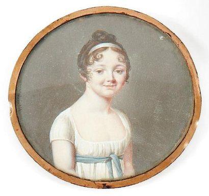 Madame Petitot (école française vers 1800)