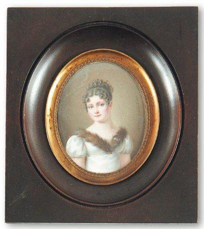 Mademoiselle Virginie Hue de Breval (active entre 1800 et 1830)